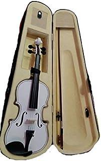 FULL SIZE VIOLIN Student 4/4 white Violin