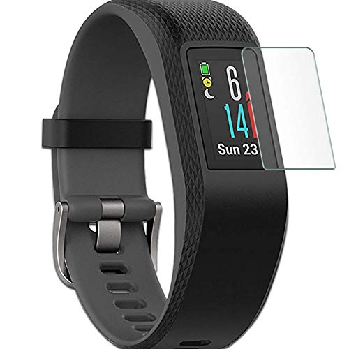 Puccy 4 Pack Anti Blue Light Screen Protector Film, compatible with GARMIN vivosport TPU Guard ( Not Tempered Glass Protectors )