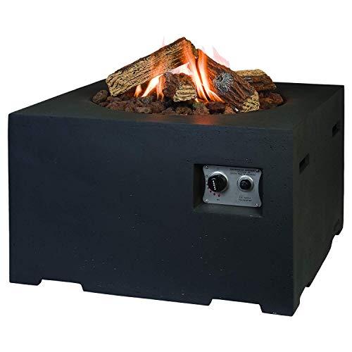 M A N I A - Feuerstellen in Feuertisch, Größe Breite 76 cm x Tiefe 76 cm x Höhe 46 cm