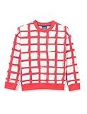 Sanetta Unisex Baby rot Sweatshirt, hot Coral, 116