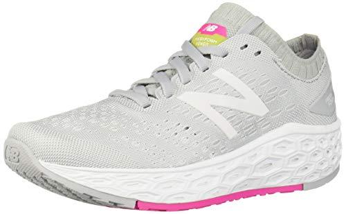 New Balance Women's Fresh Foam Vongo V4 Running Shoe, Light Aluminum/White, 6.5 B US