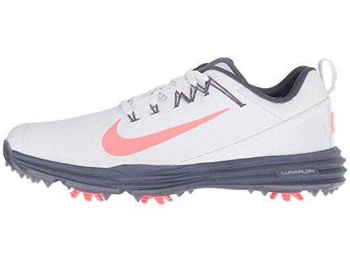 Nike WMNS Lunar Command 2, Chaussures de Golf Femme, Blanc...