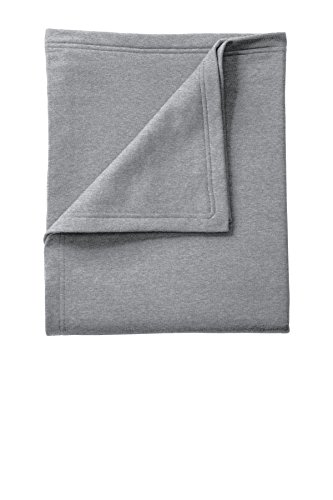 Port & Company Core Fleece Sweatshirt Blanket. BP78 Athletic Heather OSFA