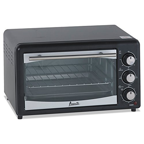 Avanti POW61B Countertop Oven/Broiler, 0.6 cu. ft, Black