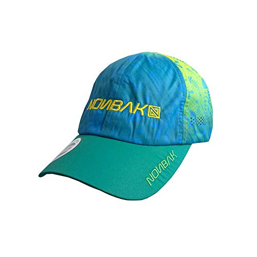 Nonbak Gorra Ultralight Kona Transpirable y Plegable. Cap Unisex. Running, Deportes Outdoor...