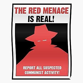 Propaganda Commies Communism Anti War Red Communist Communists Cold Home Decor Wall Art Print Poster 2
