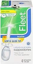 Fleet Liquid Glycerin Suppositories 4 Each (Pack of 10)