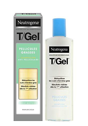 Neutrogena Champú T/Gel Cuidado del Cabello Graso, 250 ml