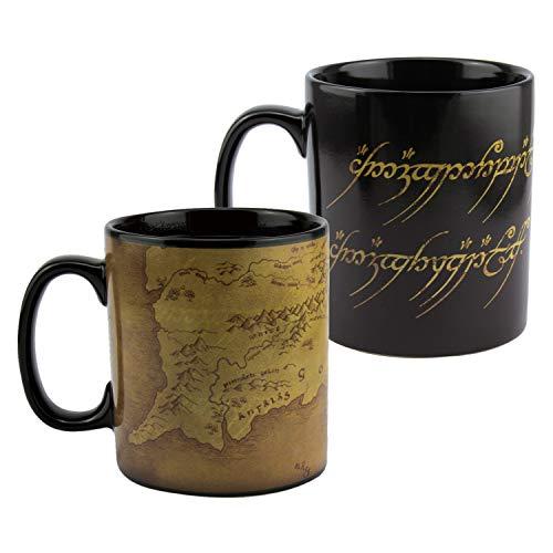 Paladone Lord Of The Rings Heat Change Coffee Mug, 550ml
