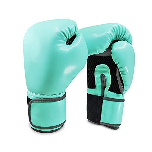 Boxhandschuhe Erwachsene Kinder Kostenlos Kampf Training Muay Thai Sanda Sandsackhandschuhe Mint Green8Oz