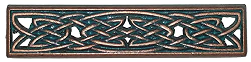 Timeless Celtic Knot Drawer Handles in Copper Patina