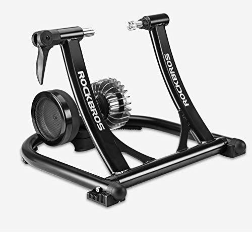 GOLDEN MANGO Dispositivo De Entrenamiento De Bicicleta Cubierta, Plataforma De Montar Bicicleta Plegable, Adecuado para Montar En Bicicleta Dispositivo De Entrenamiento 24-28 Pulgadas