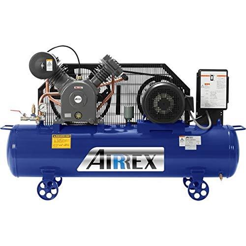 アネスト岩田 コンプレッサー オイル式 5馬力 200V 3相 60Hz 周波数60ヘルツ AIRREX エアレックス 業務用 日本製 HXT37EG-10M6