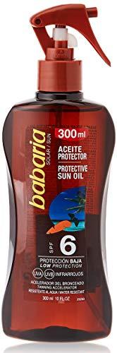 Babaria Pistola Aceite Protector Solar Zanahoria SPF6-300 ml