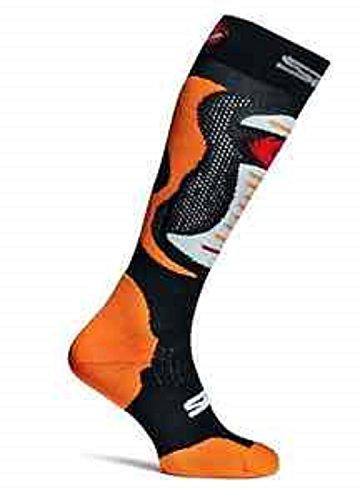 Sidi MX Socken Faenza Fluo Orange Größe S-M