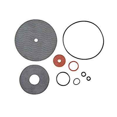 """Watts 009 1-1/4"""" - 2"""" Relief Valve Rubber Parts Repair Kit. Includes: Diaphragm, Seat O-Ring, Cover O-Ring and Sensing Passage O-Ring 0887184 887184 RK 009-RV from Watts"""