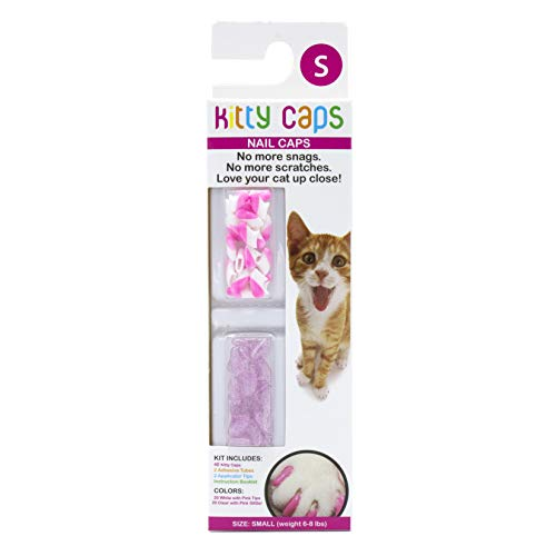 Kitty Caps Capuchons pour Ongles : Couleurs Assorties 2, Petites, 40 CT