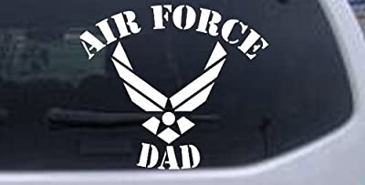 Air Force Dad Military Car Window Wall Laptop Decal Sticker