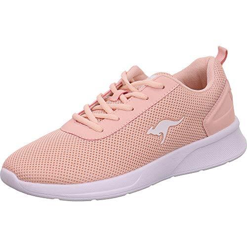 KangaROOS Damen KF-A Ease Sneaker, Rot (Dusty Rose 6058), 38 EU