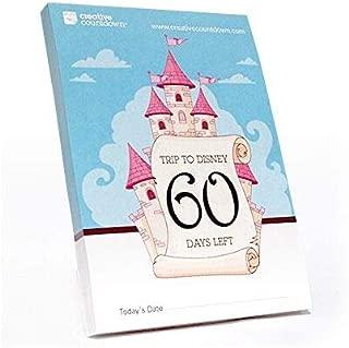 Creative Countdown Countdown to Disney, 60-day Tear-Off Calendar Calendar Castle