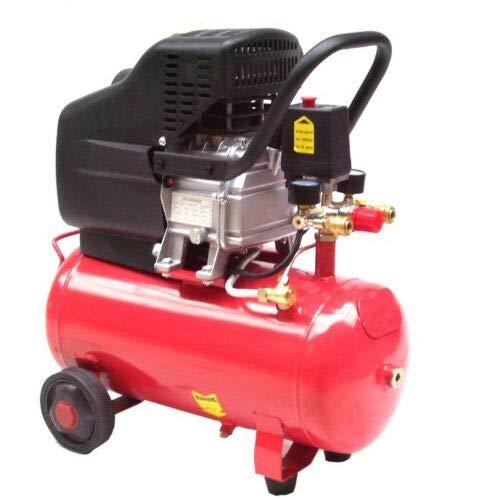Druckluft Kompressor fahrbar 24L Kessel 1,5kw 230V Druckluftkompressor 2PS B4985 AWZ