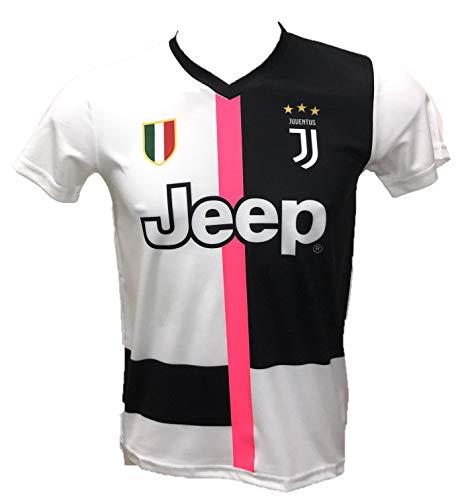 DND de Andolfo Ciro Camiseta de fútbol blanca Número 10 réplica autorizada 2019-2020 tallas de niño y adulto. Personaliza con tu nombre