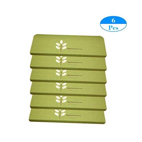 MF trapmat bladeren patroon oplichtend tapijt traptredematten - (21,65 inch x 8,66