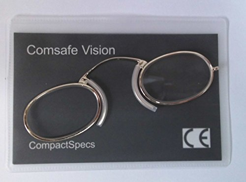 Metal Frame Compact Specs Advanced Reading Glasses Pince Nez Type for Any...