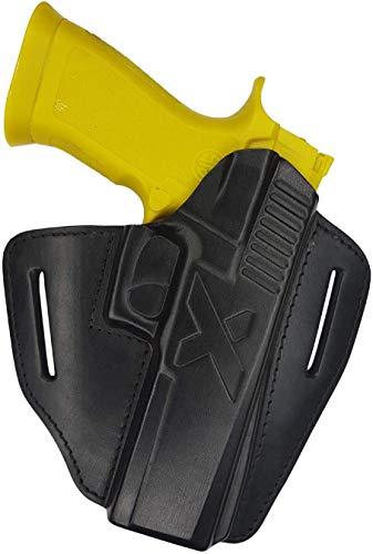 VlaMiTex U24 Schnellzieh Leder Holster für Sig Sauer P226 LDC 2 II