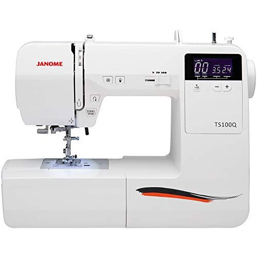 Janome TS100Q Sewing Machine, White