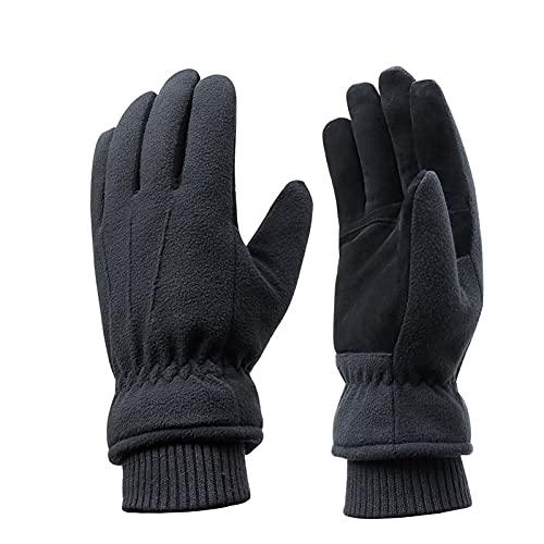 Acdyion Winter Herren und Damen Skihandschuhe Warm Futter aus 3M Thinsulate Winterhandschuhe Outdoor Handschuhe für Skifahren Wandern Radfahren Snowboard