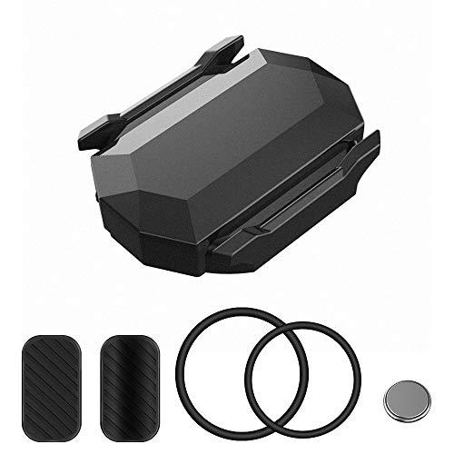 Aceshop Sensor de Velocidad y de cadencia para Bicicleta Sensor de Cadencia Inalámbrico Bluetooth & Ant+ con Doble Modo de Velocidad y Sensor de cadencia