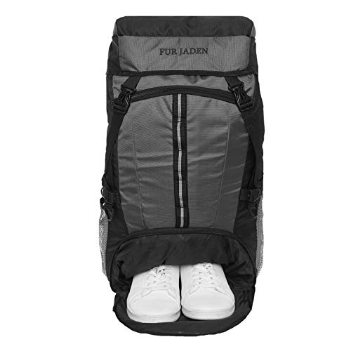 Fur Jaden 55 LTR Trekking Hiking Sports Travel Rucksack Backpack with Shoe Compartment for Outdoor Travel and Backpacking Weekend...