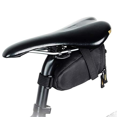 CaoDquan fietstas waterdicht zadel opbergtas reflecterende riem vaste zitzak voor mountainbike racefiets waterdichte fiets riem zitzak