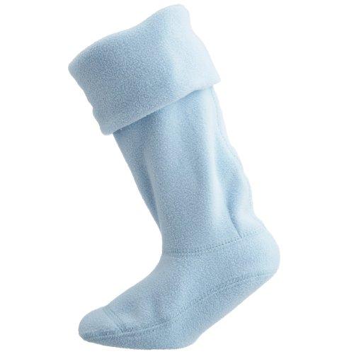Hunter Welly - Calcetín para niños, Azul (Powder Blue), Small