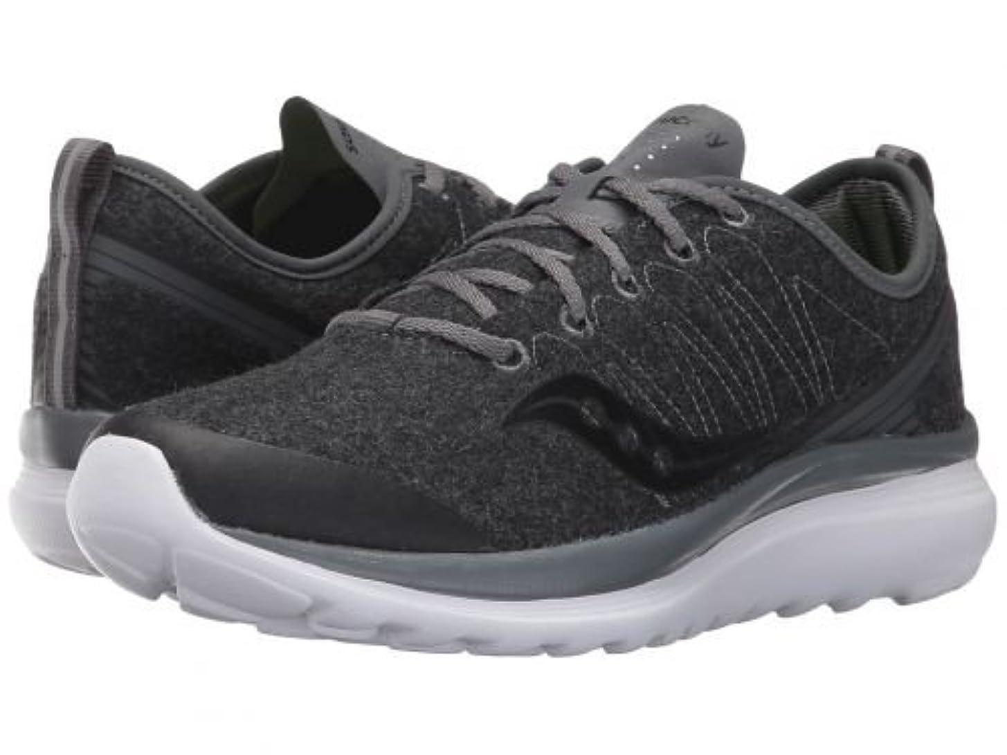 青写真矩形うんざりSaucony(サッカニー) レディース 女性用 シューズ 靴 スニーカー 運動靴 Swivel - Dark Grey 6 B - Medium [並行輸入品]