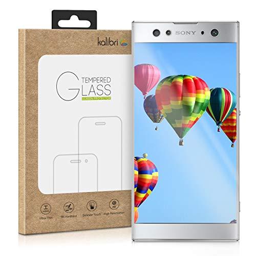 kalibri Folie kompatibel mit Sony Xperia XA2 Ultra - 3D Glas Handy Schutzfolie - auch für gewölbtes Bildschirm