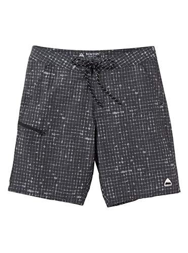 Burton Herren Moxie Shorts, True Black Rip, 34