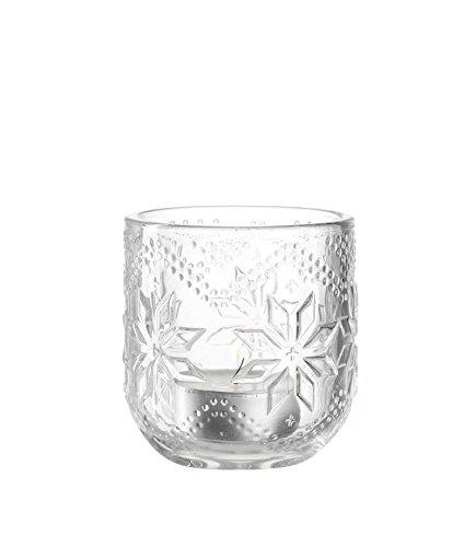 LEONARDO 34667 Tischlicht/Teelichthalter - NORDICO - Glas - Ø 7cm