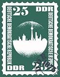 Notizbuch a4 DDR Rezeptbuch zum selberschreiben blanko: Großes XXL Ostalgie Kochbuch Backbuch zum selbst schreiben für lecker schmecker Rezepte von ... für...