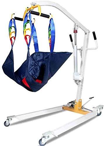 TINWG Patientenlift Slings Gehen Stehhilfen Multifunktionale Patientenhebe Übergangsmaschinen- Grund justierbarer Aufhänger Rotation Handlauf for senioren Behinderte Behinderte Bettlägerig 522