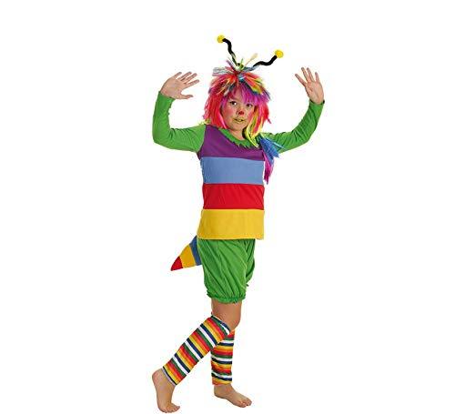 LLOPIS  - Disfraz Infantil gusanita t-l (10/12 años)