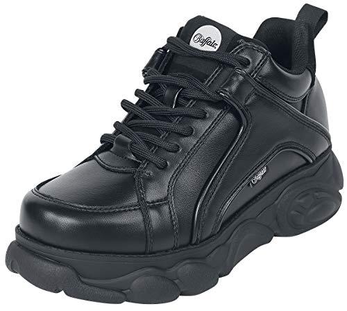 Buffalo Corin, Sneaker a Collo Alto Donna, Nero (Black 000), 38 EU