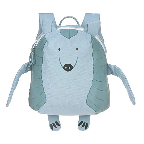 LÄSSIG Kinderrucksack Kindergarten mit Brustgurt ab 3 Jahre/Backpack About Friends, Lou Armadillo, Gürteltier, 28 cm, 3,5 L