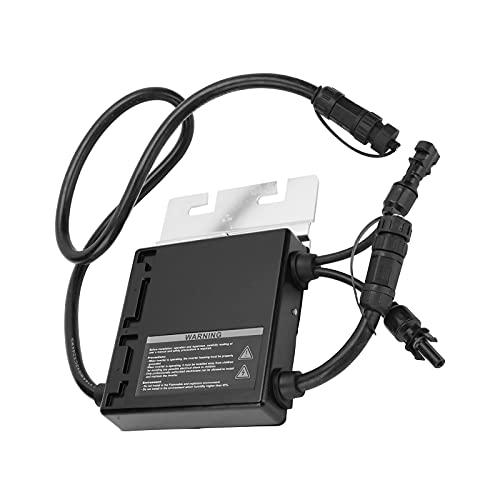 Micro inversor Eujgoov SMG-260W inversor de conexión a red de onda sinusoidal IP65 inversor solar impermeable modular con cable de alimentación(EU Plug)
