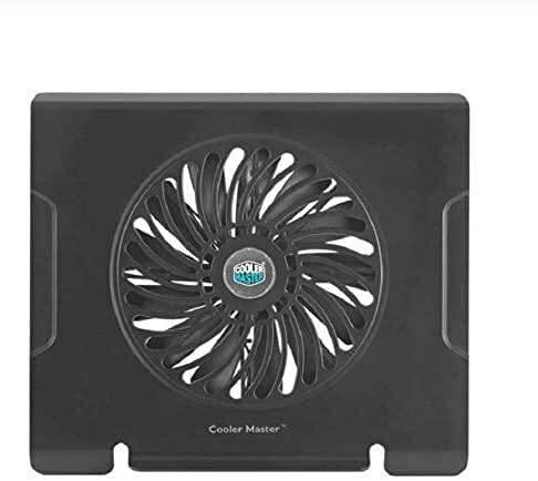 ZUIZUI Ventilador Tranquilo de 200 mm Que Tiene Almohadilla de enfriamiento portátil ultrafin para portátil para Llevar por Cable de enfriamiento 9 Pulgadas -15.4 Pulgadas, un enrutador para Enfriar