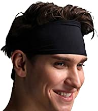 Sports Headband for Men Women Breathable Mesh Soft Absorb Sweat Fitness Yoga Scarf Headbands for Running Jogging Basketball Dancing Cycling