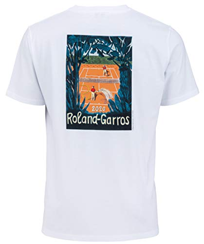 ROLAND GARROS Affiche 2020 T-Shirt 2020-Collection...