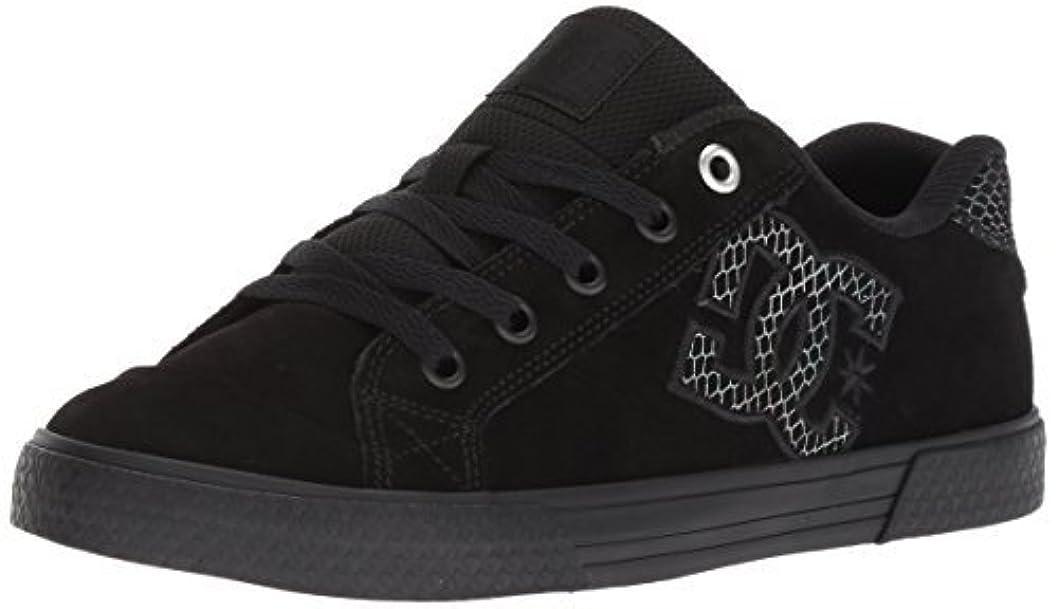 桃救い円周DC Women's Chelsea SE Skate Shoe Black/Silver/Black 5 Medium US [並行輸入品]