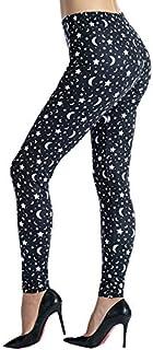 Ndoobiy Women's Printed Leggings Full-Length Regular Size...